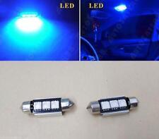 2xError Free License plate Light Blue 3SMD LED For W211 Benz E320 E350 E500 Audi