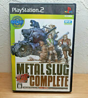 METAL SLUG COMPLETE snk ps2 playstation 2 Japan boxed manual fast shipping