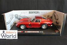 "Hot Wheels Elite Ferrari 250 GTO 1:18 red ""60 years Ferrari 1947 - 2007"" (PJBB)"