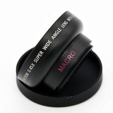 37mm HD 0.45x Wide Angle Macro Conversion Lens + Bag for Canon Nikon Sony Camera