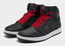 Nike Air Jordan 1 Retro High Black Red OG 555088-060 Bred GS & Men's 4Y-13