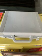 RARE Vintage Official Branded Super Nintendo SNES Hard Travel Carry Case In Grey