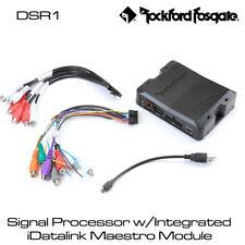 Rockford Fosgate DSR1-Signal Processor con integrato iDataLink Maestro Modulo