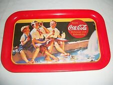 "Coca-Cola Metal Tray "" Boys on The Curb """