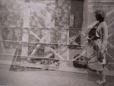 Vintage Mid Century Moderne Abstract Exposure Kunst Vernacular B&w Fotografie