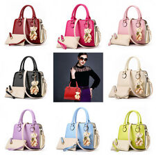 Women Handbag Shoulder Bags Tote Purse Leather Ladies Messenger Hobo Bag Black