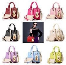 Women Handbag Shoulder Bags Tote Purse Leather Ladies Messenger Hobo Bag Rose