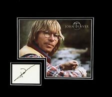 John Denver In Person Autograph