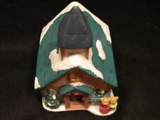 Bisque Porcelain Village Christmas Country Church (similar to Department 56)