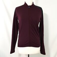 Kitsbow Mountain Biking Jersey Long Sleeve Maroon XS