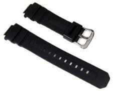 Bracelet de montre Casio résine noire p.AWG M100S AWG M100SB