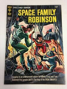 Space Family Lost In Space #12 April 1965 Gold Key Comics Classic cover!