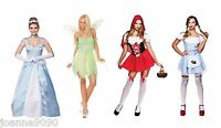 LADIES SEXY FAIRY TALE FAIRYTALE STORY BOOK FANCY DRESS FILM HALLOWEEN COSTUME