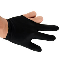 Hot High Quality Elastic 3 Fingers Glove for Billiard Pool Snooker Table Cue