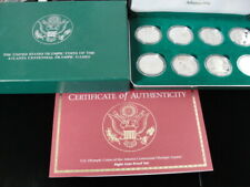 1996 US Mint Atlanta Olympic Games 8 Coin Silver Proof Set