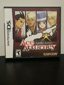 Apollo Justice: Ace Attorney (Nintendo DS, 2008) CIB Tested