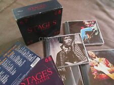 JIMI HENDRIX Stages JAPAN 4CD BOX SET POCP-2161~4 64-page Booklet+OBI backside