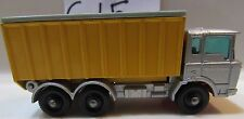 MATCHBOX LESNEY TIPER CONTAINER TRUCK - MADE IN ENGLAND LOOSE