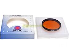 55mm. filtro Rosso / Arancio 4x B+W by Schneider. *NUOVO*. Rotorange.