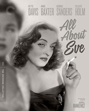 All About Eve Criterion Collection (bette Davis) 4k Mastering Blu-ray