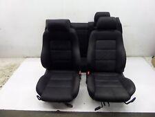 96-02 Audi B5 A4 S4 Euro Manual Cloth Recaro Sport Seats Sedan OEM