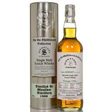 1 BT. Whisky SINGLE MALT UNCHILFILTERED 46° GLENLIVET 1996 THE SIGNATORY