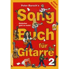 Peter Bursch's Songbuch Band  2  für  Gitarre (+CD)