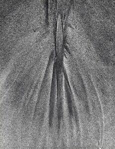 1960s Vintage LUCIEN CLERGUE Beach Wet Sand Pattern Abstract Sea Photo Art 12x16