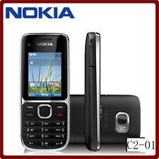 Nokia C2-01 3G teléfono 3.15MP Cámara FM reproductor de MP3 MP4 Desbloqueado Teléfono Celular Original