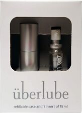 Good-to-Go Silver Travel Case with 15ml Refill, Uberlube, 15ml 1 pack