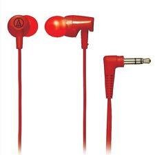 Audio-technica ATH-CLR100/RD Inner Ear Earphone Headphones ATHCLR100 Red