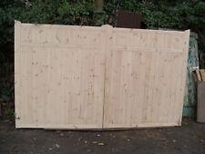 wooden driveway gates 6ft h x 12 ft w  elite gates