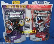 Transformers Cybertron Sideways vs Red Alert New  Factory Sealed
