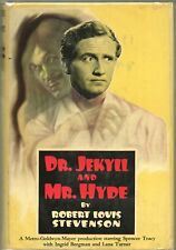 DR JEKYLL AND MR HYDE By ROBERT LOUIS STEVENSON Grosset Dunlap HC 1941 TRACY