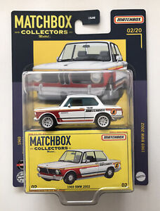 2021 MATCHBOX Collectors #2 - 1969 BMW 2002 (White) - New & Unopened