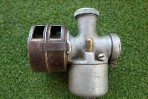 Early Vintage Villiers MK3 Carburettor & Air filter & Choke