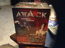 Weider Attack Mma Training Dvd! Door Attachment, Gloves, Ankle Straps Workouts