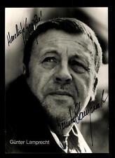 Günther Lamprecht Autogrammkarte Original  Signiert ## BC 39766