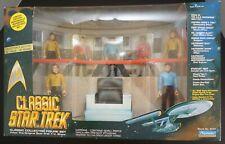 Star Trek Classic Playmate Bridge Collector Figure Set Limited Edition 1993