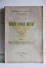 MEMORIE STORICHE MILITARI 1913 Conquista Algeria Colonia Eritrea Somalia