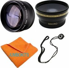 HD FISHEYE LENS + TELEPHOTO ZOOM LENS FOR Canon EF 100-400mm f/4.5-5.6L IS USM