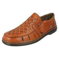 Chaussures décontractées marron Rieker pour homme