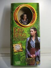 "TOY BIZ LOTR FELLOWSHIP ARWEN POSEABLE 12"" DOLL ACTION FIGURE ~ NEW"