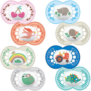 MAM Original Soother 6m+ 2Pk 4 Different Styles