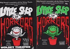 The Little Shop Of Horrors.  1988 Wolsey Theatre. Helena Cornell (ZS.38)