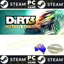 AusSeller* DIRT 3 -COMPLETE EDITION STEAM Game Digital DOWNLOAD Code-NoDisc