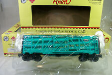 READY MADE TRAINS: ARISTO-CRAFT CASE OF 6 NEW YORK CENTRAL STOCK CARS MINT OBs!