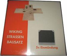 WIKING 119904 Stassenbausatz Einmündung 1 87