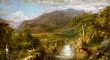 The Heart of the Andes by Frederic Edwin Church 60cm x 33cm Art Paper Print