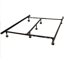 7 Inch Adjustable Size Full  Low Profile Metal Bed Frame